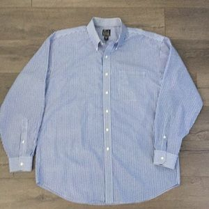 Jos. A. Bank Men's Bengal Stripe Button Down Shirt